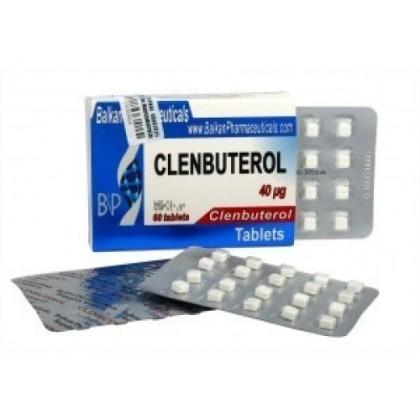 Clenbuterol BP 40mcg (100 tab)