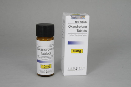 Oxandrolon tabletten 10mg (100 tab)